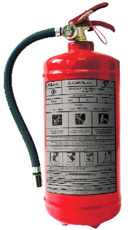 2 1 - Огнетушитель хладоновый ОХ-2