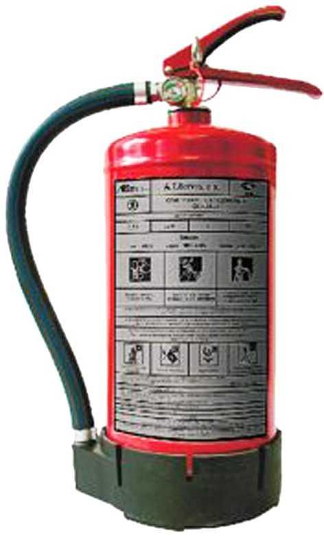 6 5 - Огнетушителя хладоновый ОХ-6