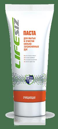 для мытья и очистки сильнозагрязненных рук  Элен  - Паста для мытья и очистки сильнозагрязненных рук «Элен»100мл