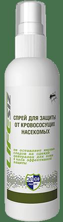 Спрей для защиты от кровососущих насекомых _Элен_