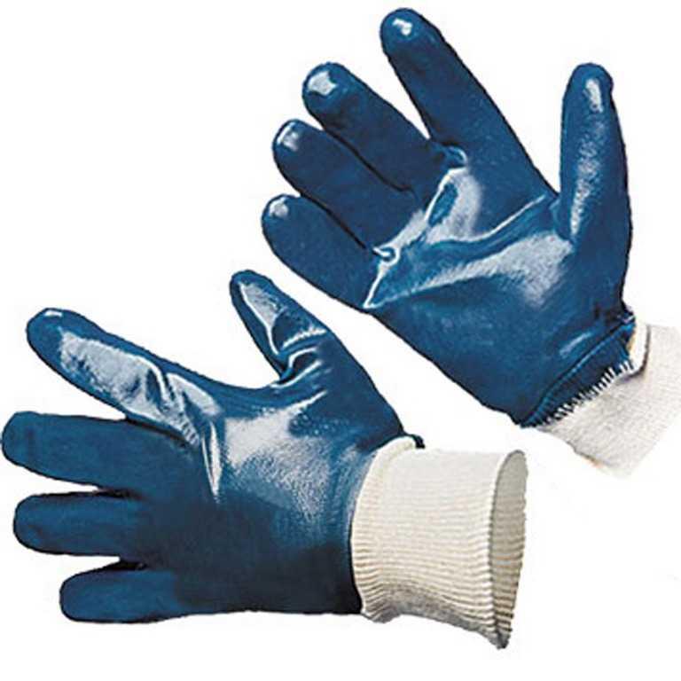 нитриловые полное покрытие Люкс резинка 3 - Перчатки нитриловые полное покрытие Стандарт (резинка)