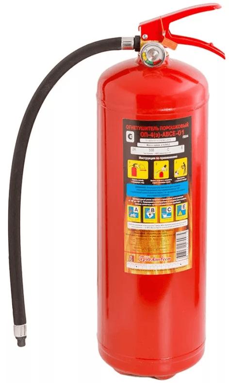 4 - Огнетушитель ОП-4 (з) ABCE