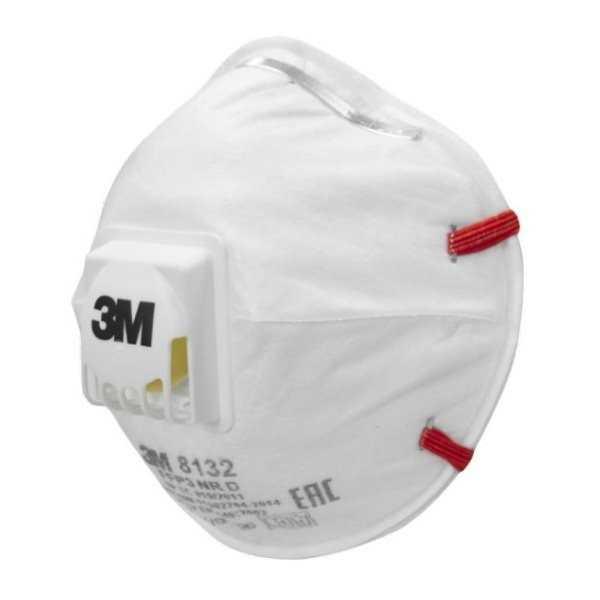 8132 - Полумаска фильтрующая (респиратор) 3М 8132