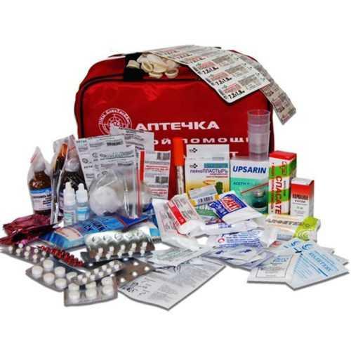 Аптечки и медицинские средства