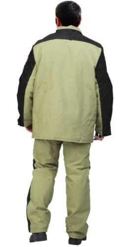 1 36 280x500 - Сварщик костюм мужской ( Брезент+спилок )