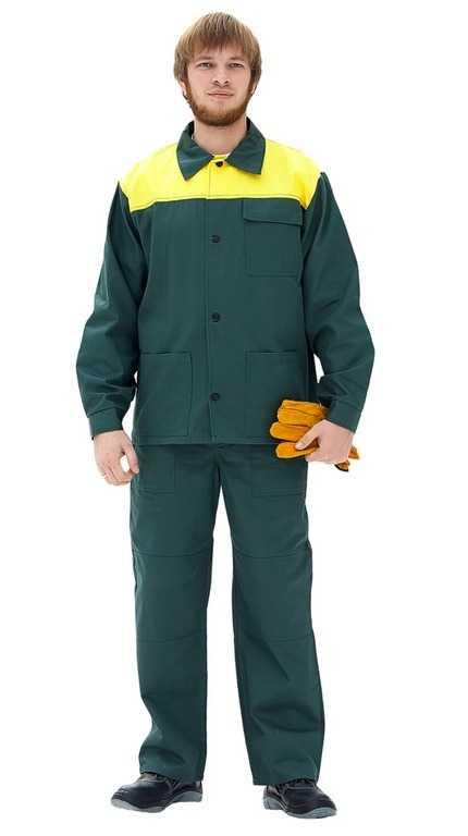 Стандарт зеленый желтый 1 - Костюм Лето (зеленый/желтый)