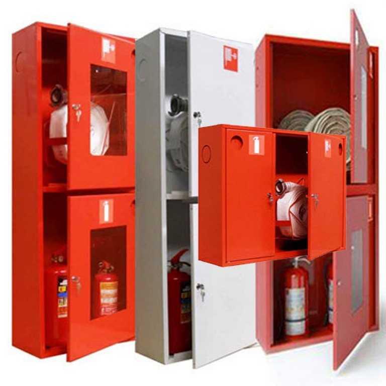 Пожарные шкафы и оборудование