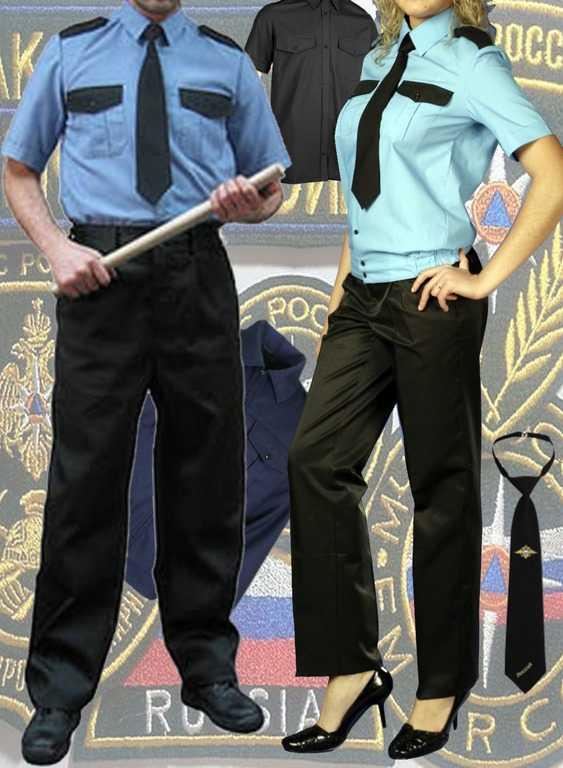Брюки, рубашки, галстуки, шевроны, ремни