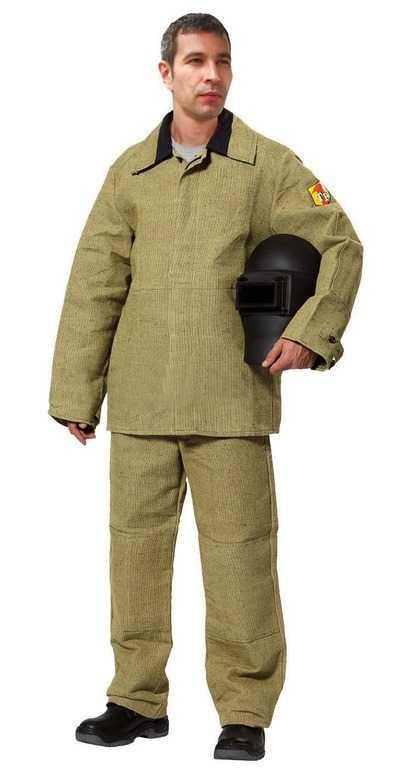 1 - Сварщик костюм мужской ( Брезент )