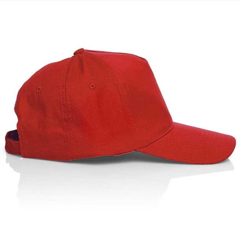 1 - Бейсболка, красный