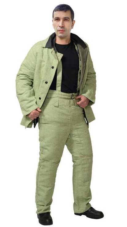 утеп брезент - Сварщик костюм утепленный  ( Брезент )