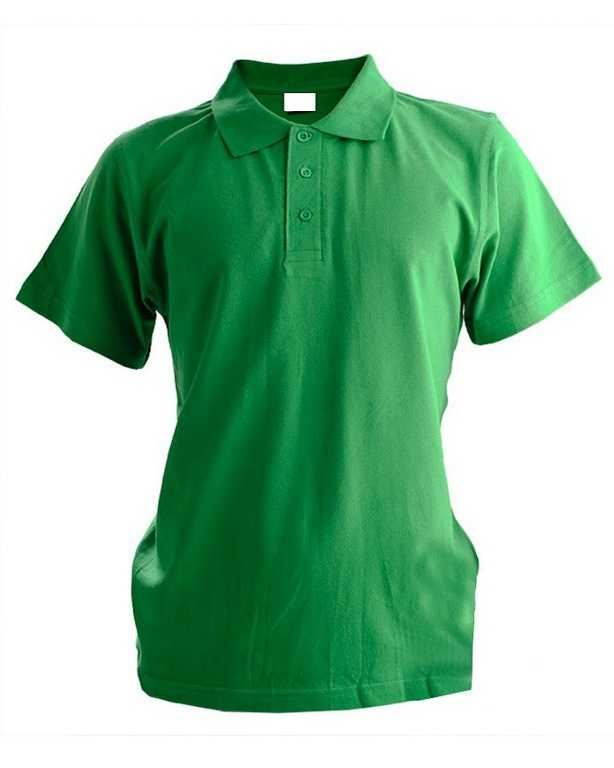 1 - Рубашка Поло с коротким рукавом зеленая
