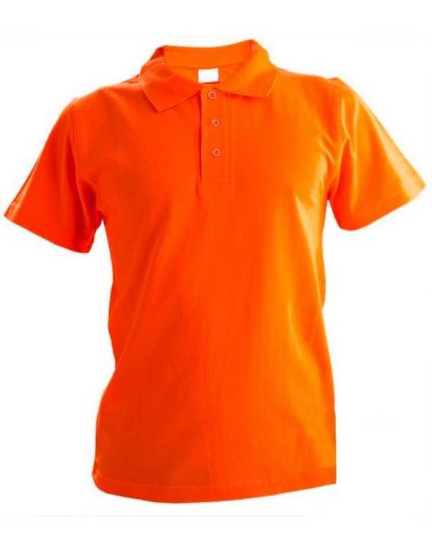 .jpg - Рубашка Поло с коротким рукавом оранжевая