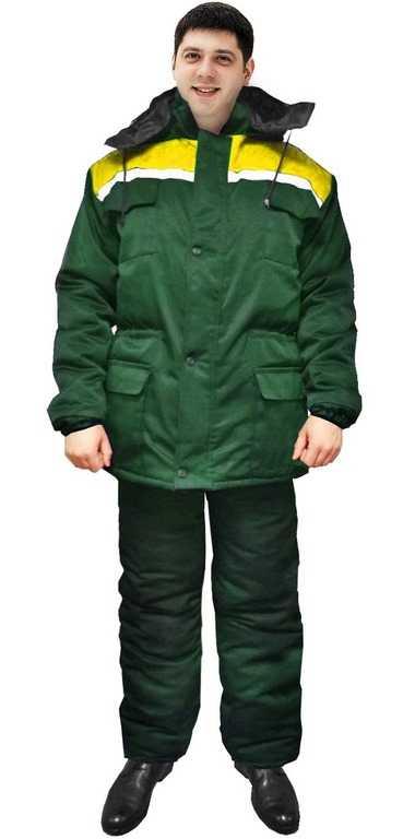 3 - Куртка Буря (т.зелёныйжёлтый)