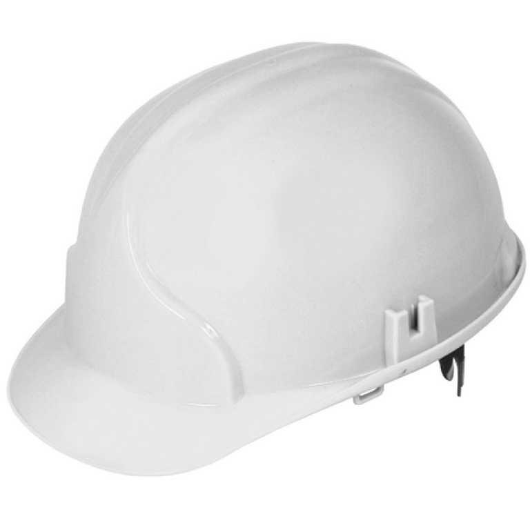 белый 1 - Каска строительная Лидер (белый)