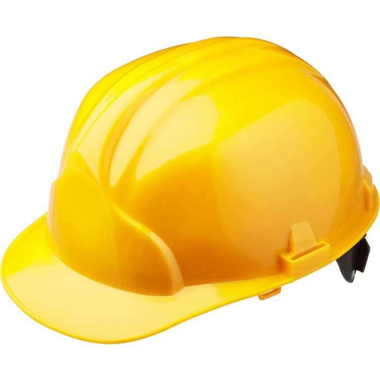желтый - Каска строительная Лидер (жёлтый)