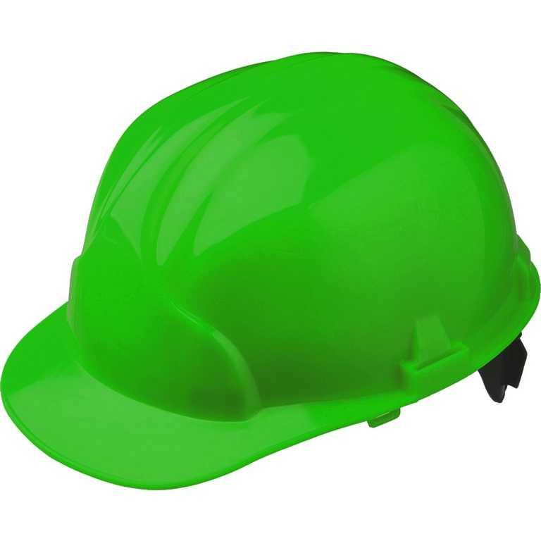 зеленый - Каска строительная Лидер (зелёный)