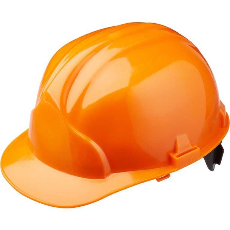 оранжевый - Каска строительная Лидер (оранжевый)
