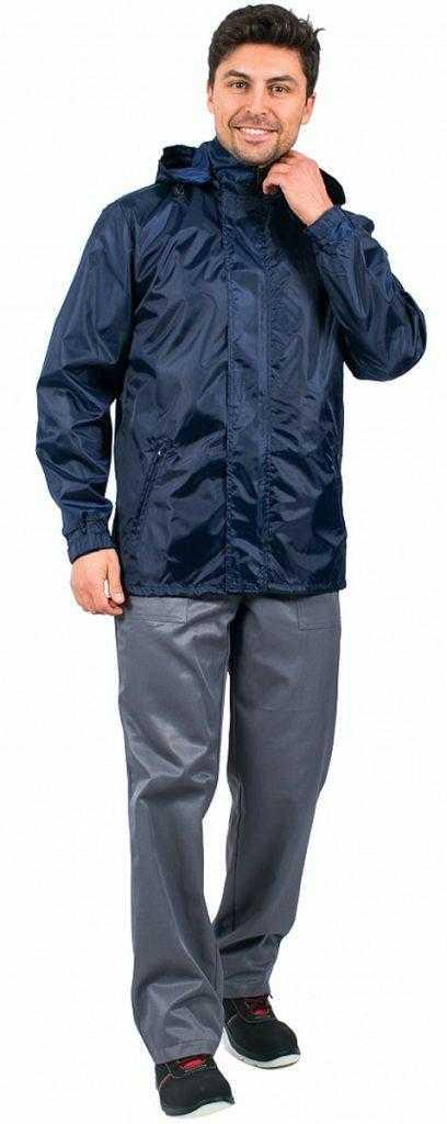 2cdccc5562b57cf98a1fc39b81cced3c 408x1024 - Куртка ветровка Промо,т. синяя