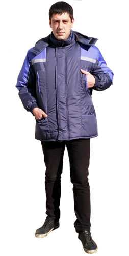 1 253x500 - Куртка Протект ( т.синий с васильком )