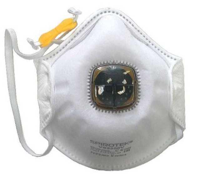 220 в - Полумаска фильтрующая (респиратор) Spirotek VS2200V (Спиротек)
