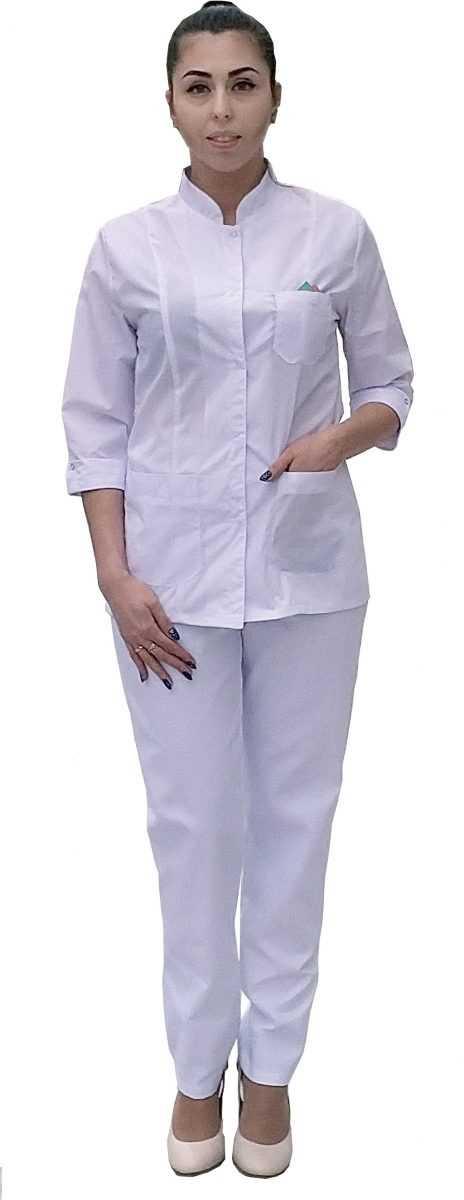 классик 2 - Блуза Классик со съёмным декором