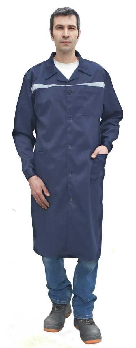 докар 1 - Халат мужской Докар ( темно-синий )