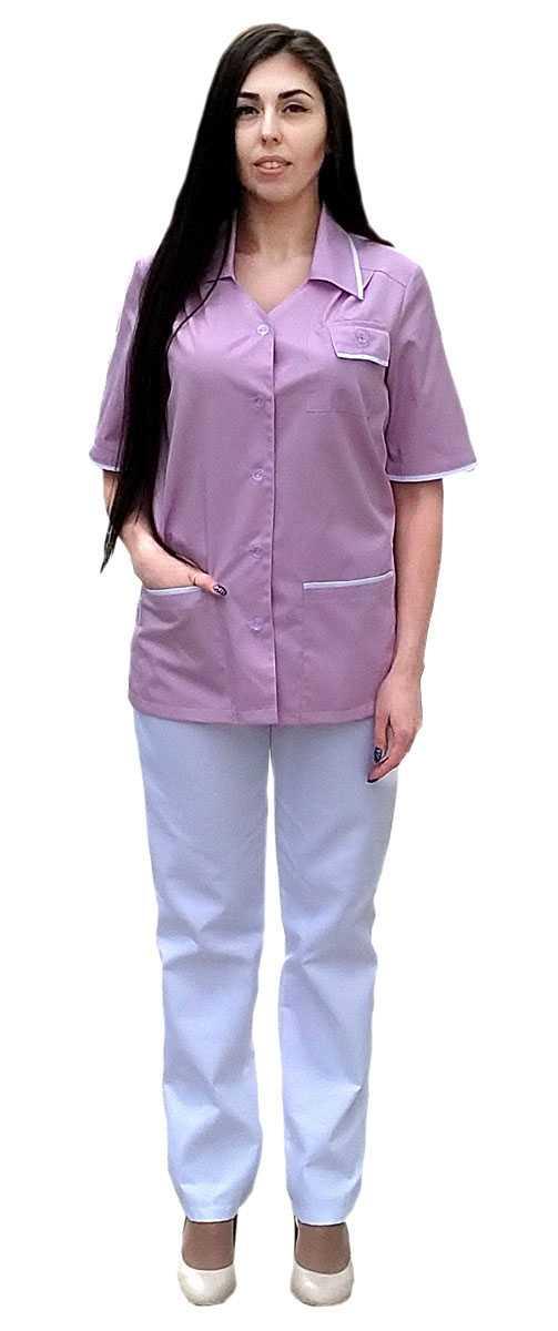 IMG 20190305 133025 3 - Куртка-блуза Эрика розовая
