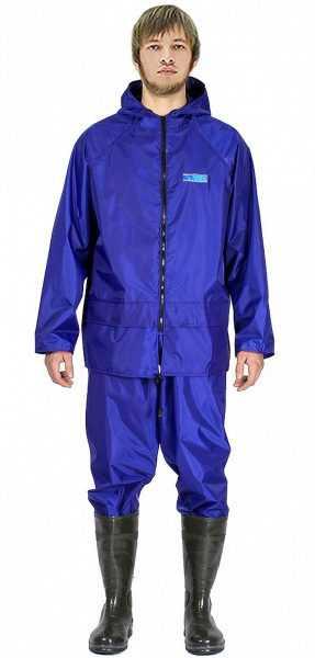 влагозащитный Poseidon WPL НейлонПВХ225 синий 1 287x600 - Костюм влагозащитный Poseidon WPL