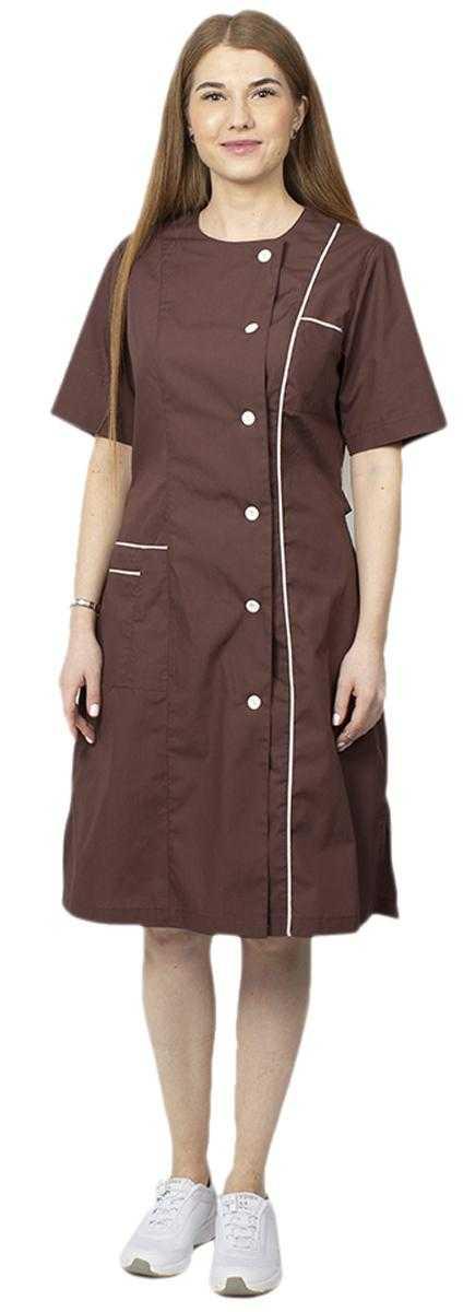 женский Лада тк - Халат женский Лада (тк.ТиСи,120), коричневый