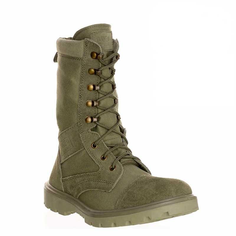 90 - Ботинки кожаные облегченные с высокими берцами AZIMUTH O-9