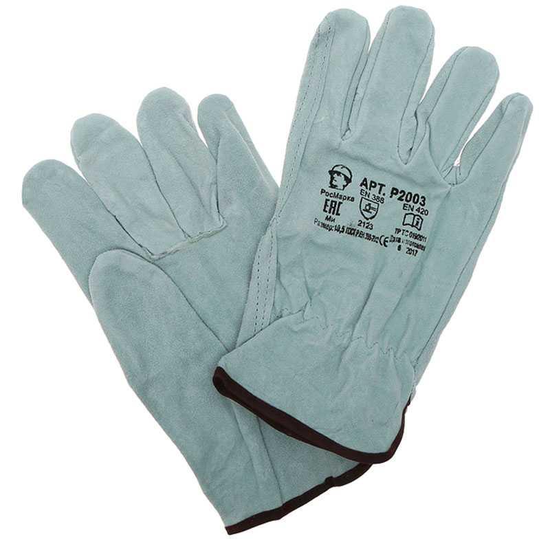 700 - Перчатки цельноспилковые Драйвер, серые