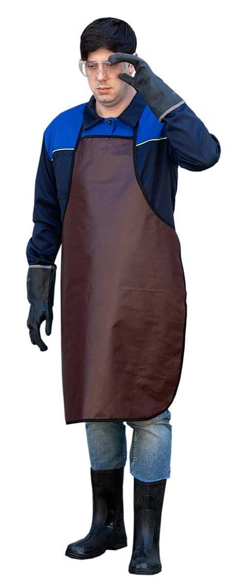IMG 6281 1 - Фартук Винилискожа, коричневый