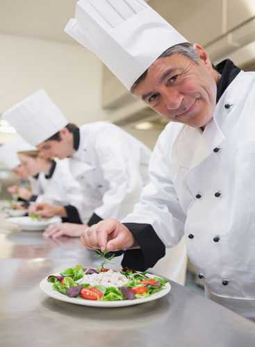 Головные уборы для работников кухни