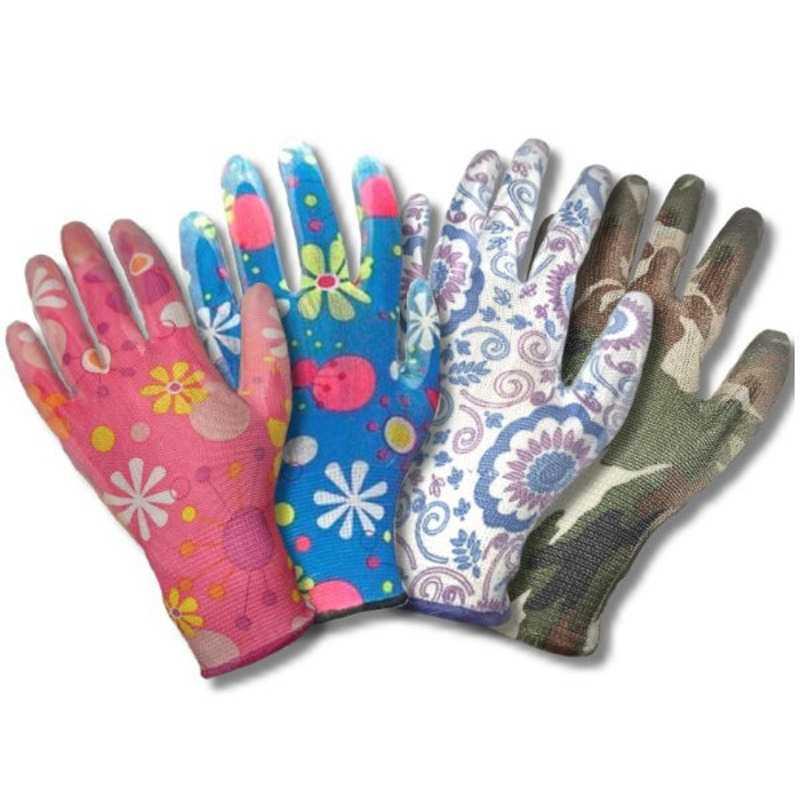 4c6c36e028f81de50356b713c4792793 - Цветные нейлоновые перчатки с нитриловым покрытием