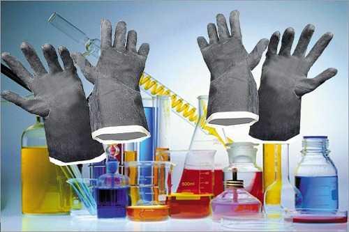 Перчатки от химических воздействий , КЩС