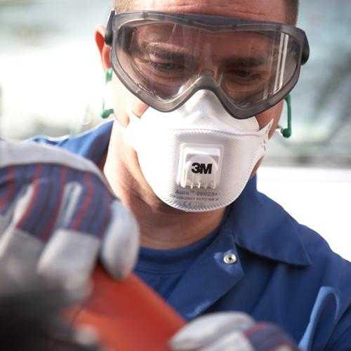 Полумаски фильтрующие (респираторы) 3М