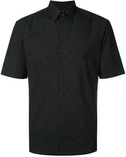 сорочка-черная-с-коротким-рукавом
