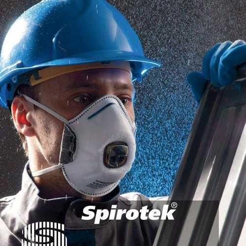 Полумаски фильтрующие (респираторы) Spirotek