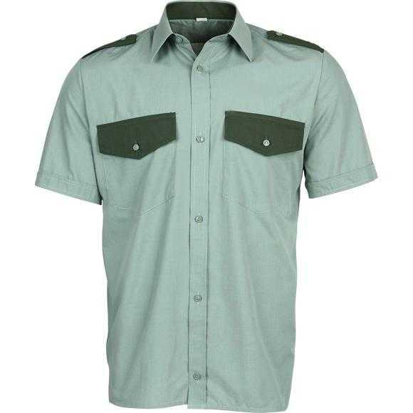 1415607709 1 mini3 - Рубашка охранника короткий рукав, оливковая