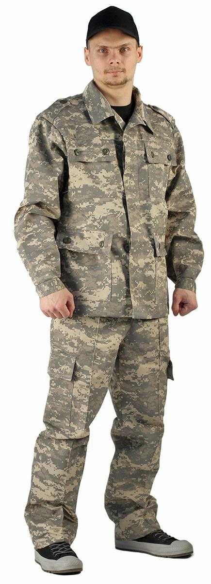 """16b20710e85b80f757a39f579268bb70 - Костюм """"ЗАХВАТ"""" куртка/брюки, цвет: кмф """"Цифра св.серый"""", ткань: Грета"""