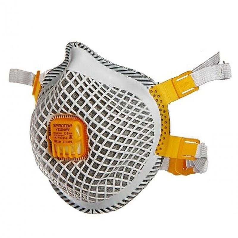 2005 respirator spirotek vs2200wv - Полумаска фильтрующая (респиратор) spirotek vs2200wv