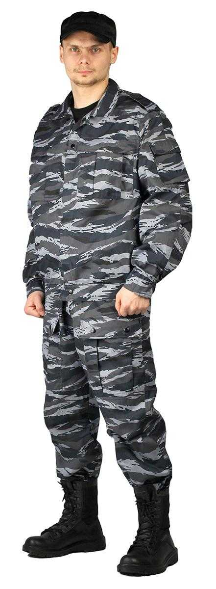 """3aff5ec6aaa4a083b1b2e7d9c8d2513d - Костюм мужской """"Спецназ"""" (куртка/брюки)тк.смесовая ТВИЛ """"Серый вихрь"""""""