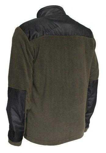 "4f6e8b0dc9ea9776c46f51ae5a43f193 347x500 - Флисовая куртка ""ELF"" хаки + чёрный 280г/м2"