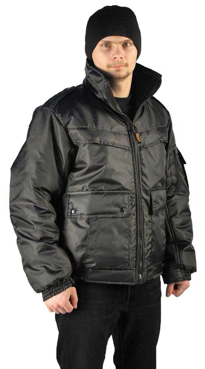 """5f22e1032bdee07688fefd36f64f47df - Куртка демисезонная """"КОНТРОЛ"""" цвет: Черный, ткань: Оксфорд"""