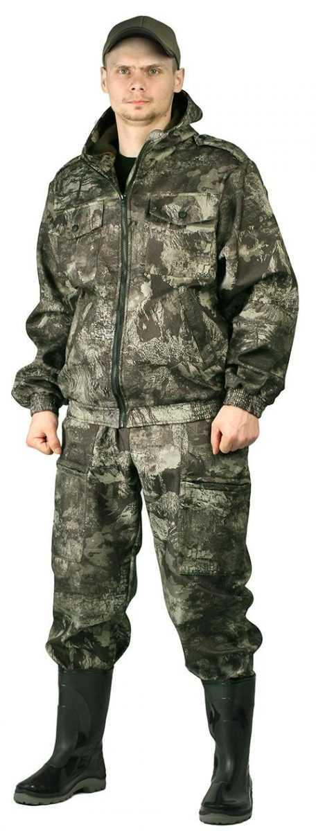 "7cec2ae94866e42a06a12e92d128ee48 - Костюм ""КАСКАД"" куртка/брюки, цвет: кмф ""скалолаз"", ткань: Полофлис"
