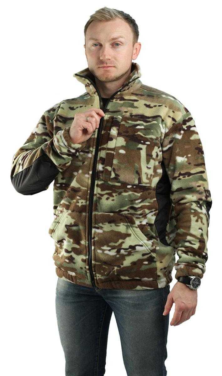 9d5667c40acf816e218e70a17e76f416 - Куртка флисовая МИЛИТАРИ (расцветки КМФ в ассортименте)