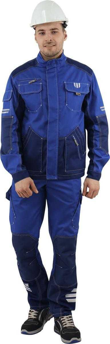 DSC06218 - Куртка ЭДВАНС, (василек/синий)