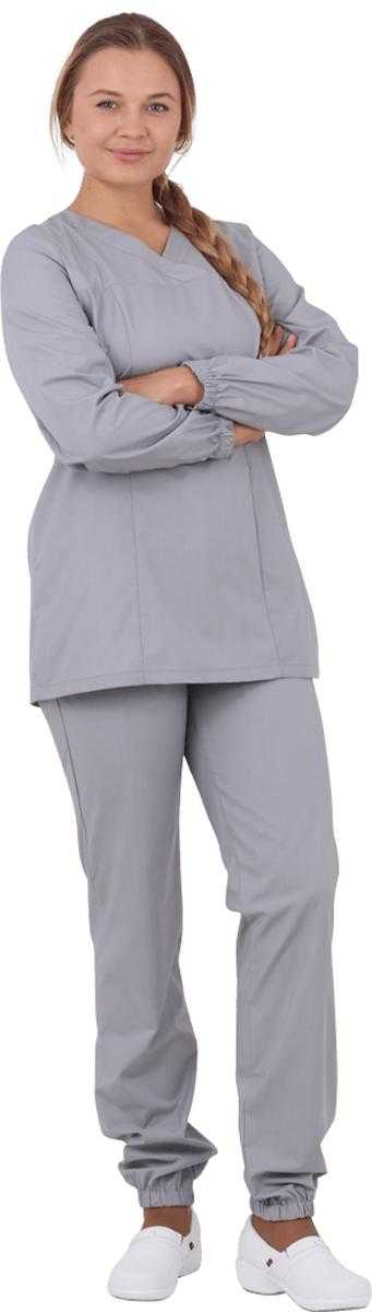 IMG 8899 - Костюм женский ХАССП МАРТА, серый