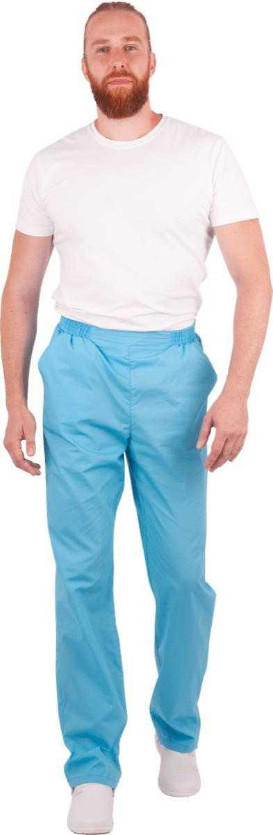 Img0044 в каталог - Брюки голубые, мужские